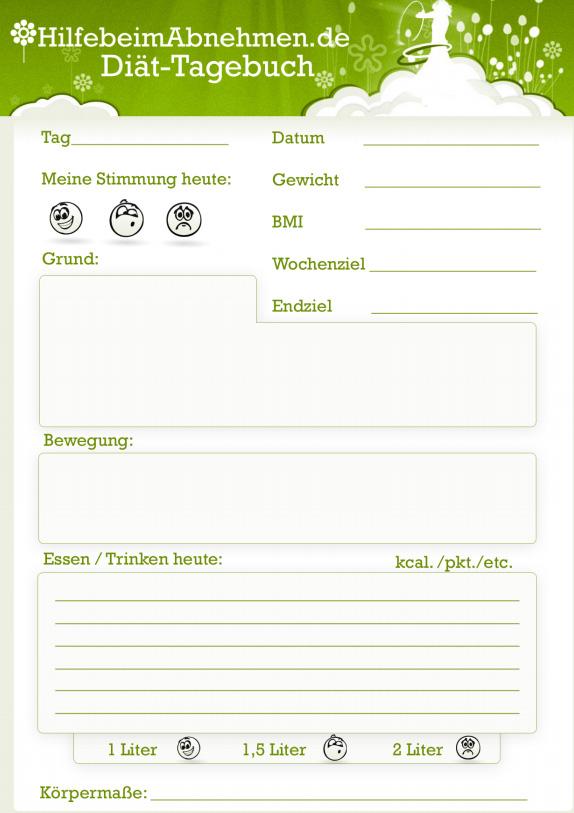 abnehmen.com tagebuch